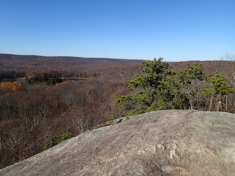Area on Split Rock Trail known as Indian Cliffs