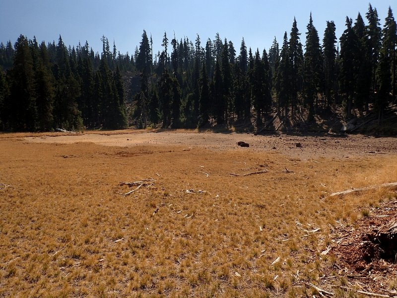 Boulder Lake is often dry by late summer