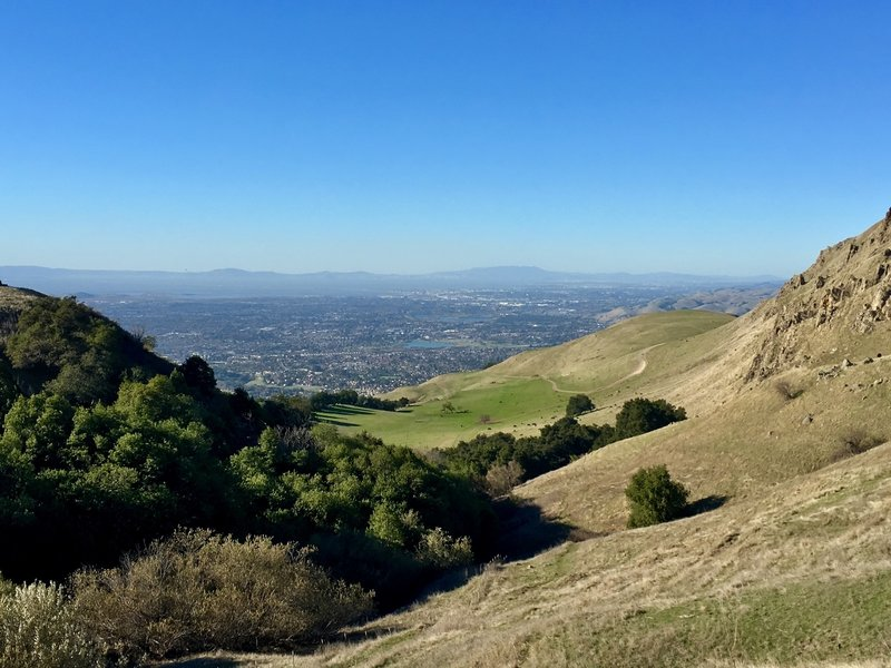Mission Peak via Horse Haven... almost there