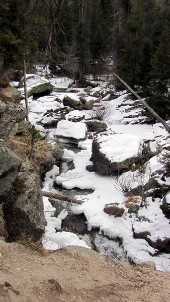 Adams Falls, Rocky Mountain National Park