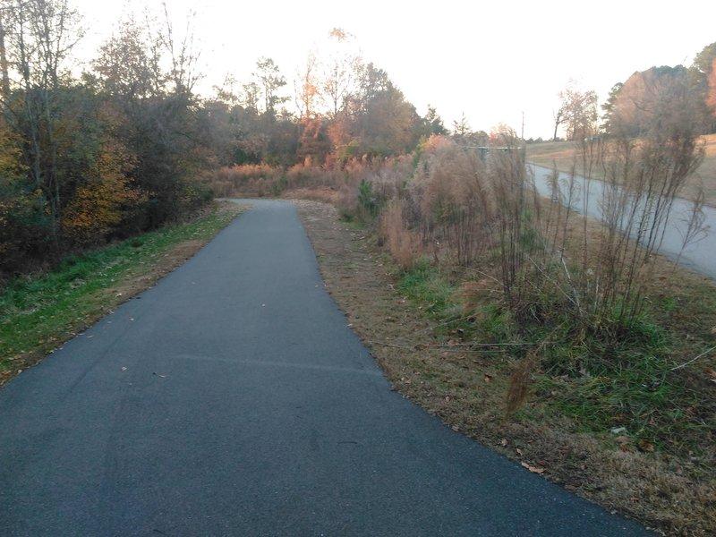 Trailhead  to Walnut Creek, off Centennial Parkway
