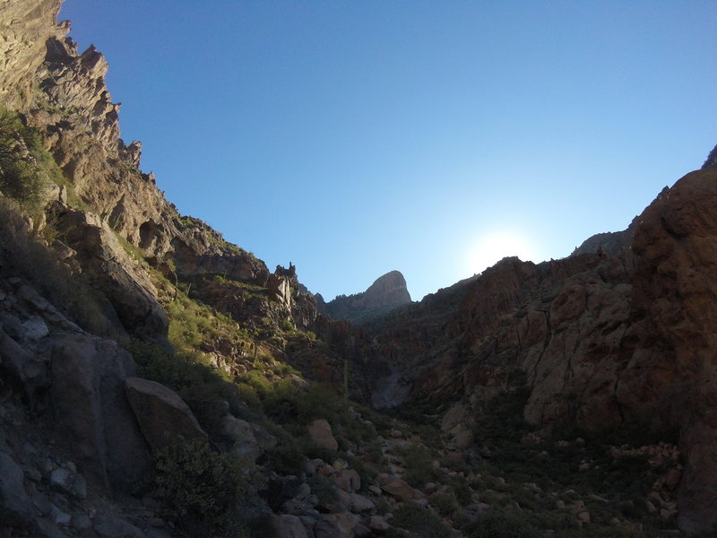 Flat Iron - Siphon Draw Trail - Lost Dutchman State Park