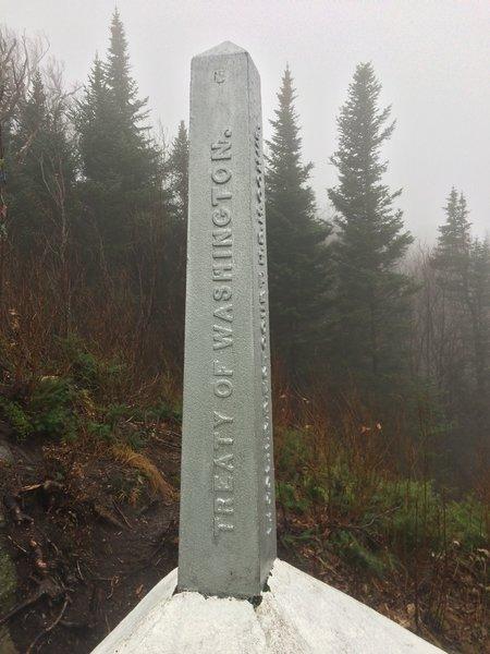 Vermont/ Canada Boundary Marker
