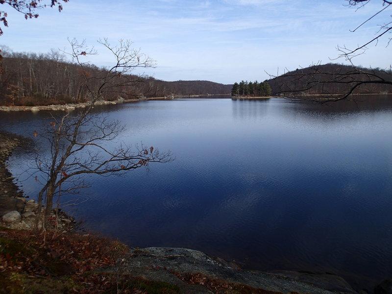 View of Clinton Reservoir
