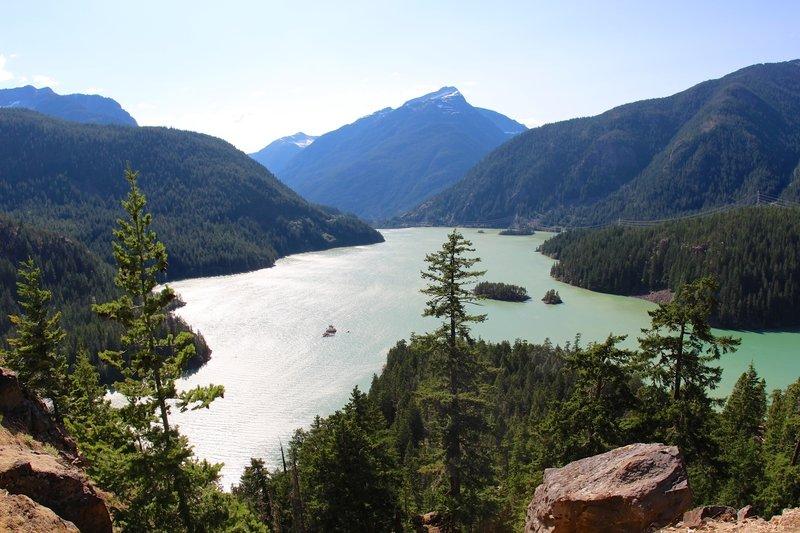 Viewpoint of Diablo Lake