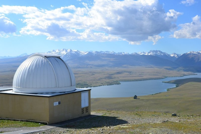 Observatory at the summit