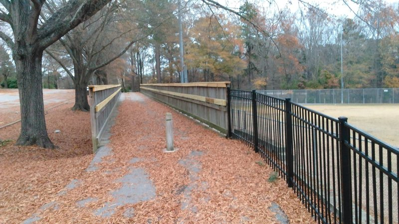 Bridge at Worthdale Park