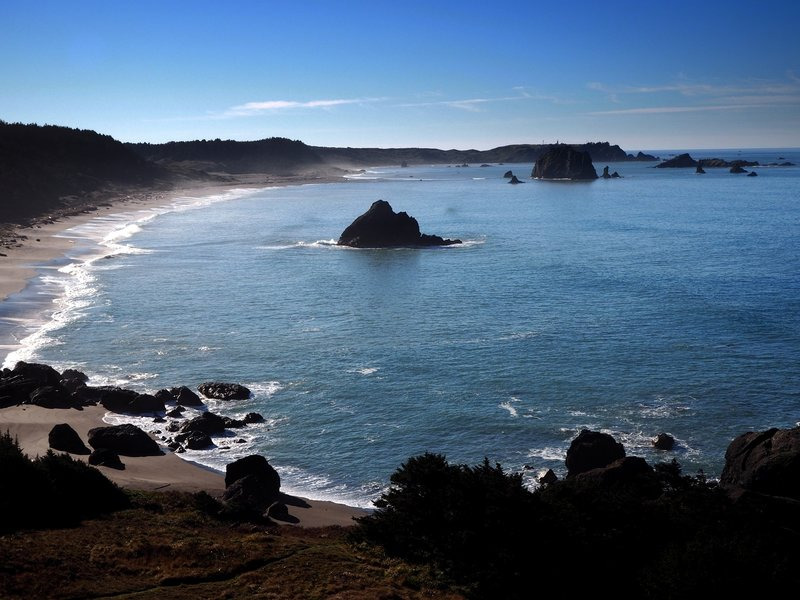 Cape Blanco from Blacklock Point