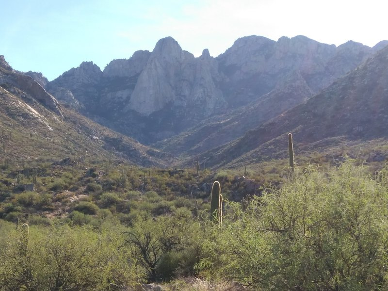 Leviathan Dome, from the Alamo Canyon Trail in Catalina State Park