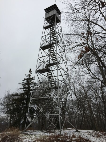 Kane Mt Fire Tower...awesome views at the top!