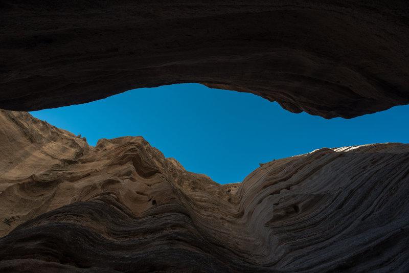 Slot Canyon Trail - Looking Up