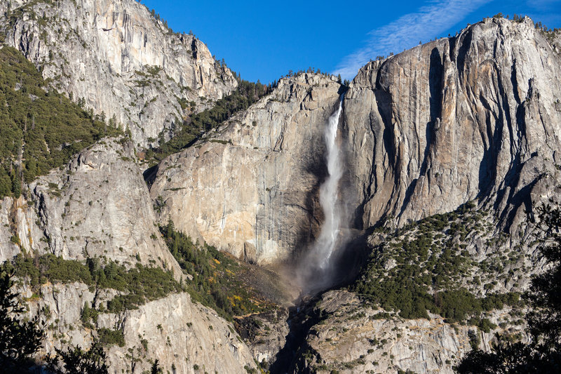 Upper Yosemite Falls from the Four Mile Trail