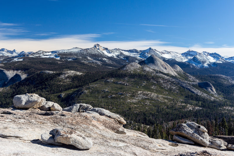 Mount Starr King from Sentinel Dome