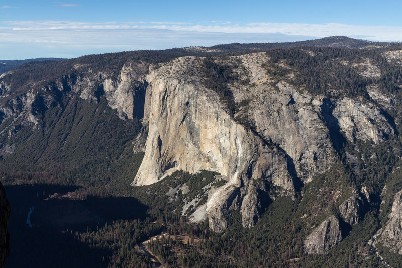 El Capitan from across the valley