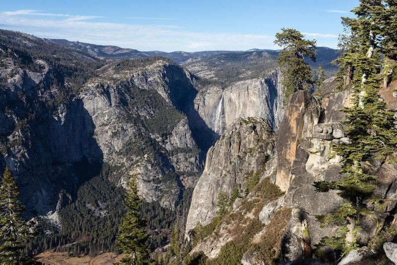 Yosemite Falls from Pohono Trail.