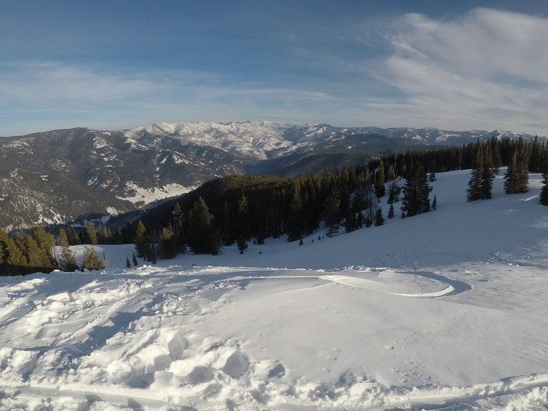 From the peak of Garnet.