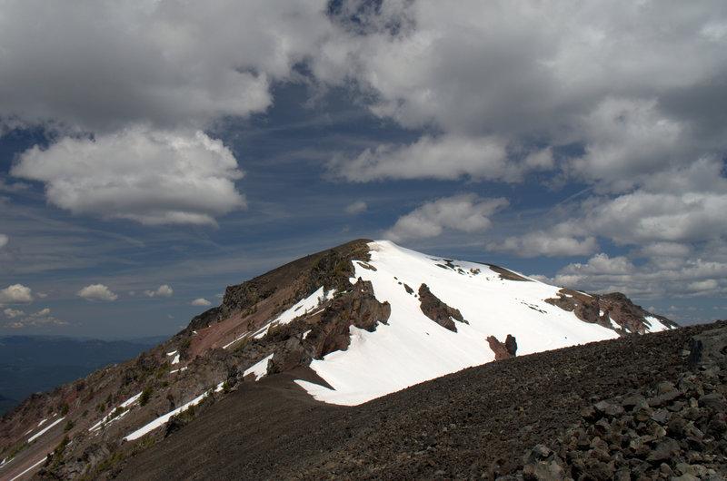 Mount Bailey's rocky summit ridge