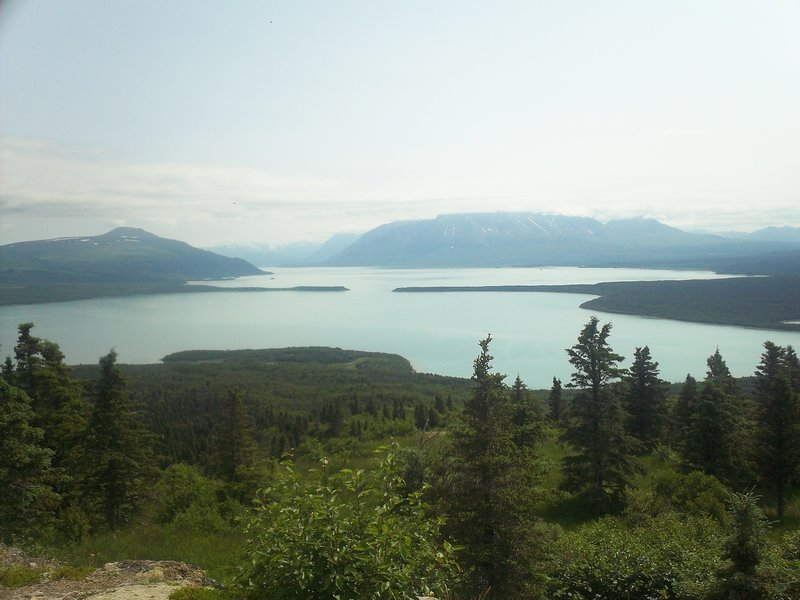 Naknek Lake from Dumping Mountain - Katmai National Park