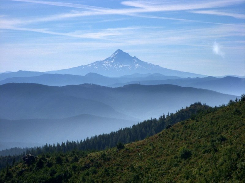 Mount Hood from the Bluff Mountain Trail