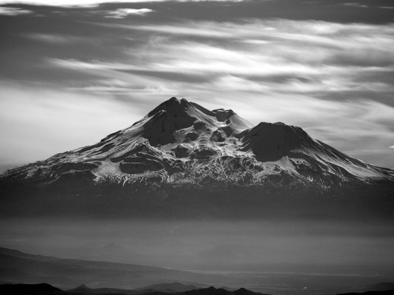 Mount Shasta from the summit of Pilot Rock
