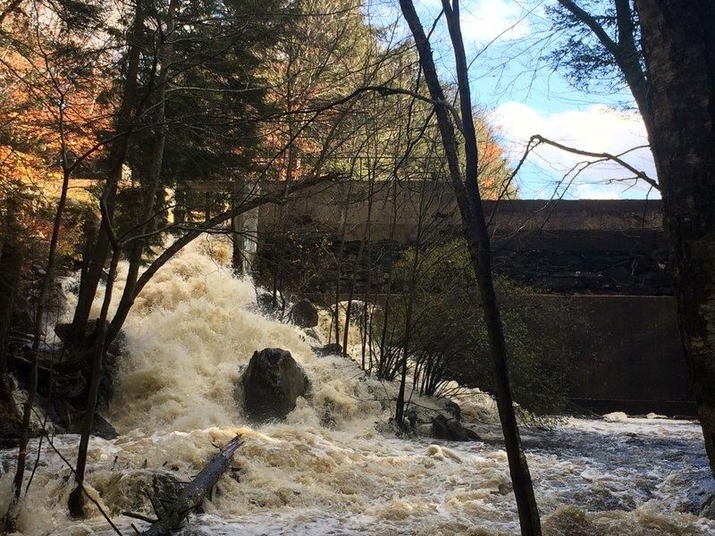 Break the dam; release the river!