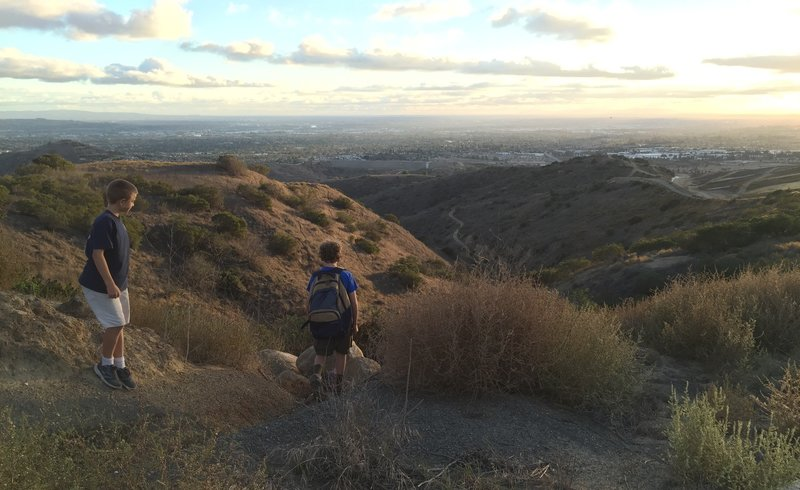 Chino Hills State Park Tower Trail - Brea