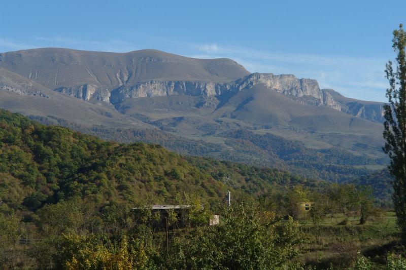 Ijevan mountain ridge
