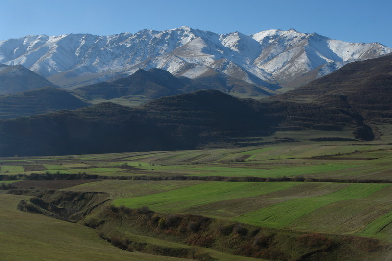 view from Tatev village