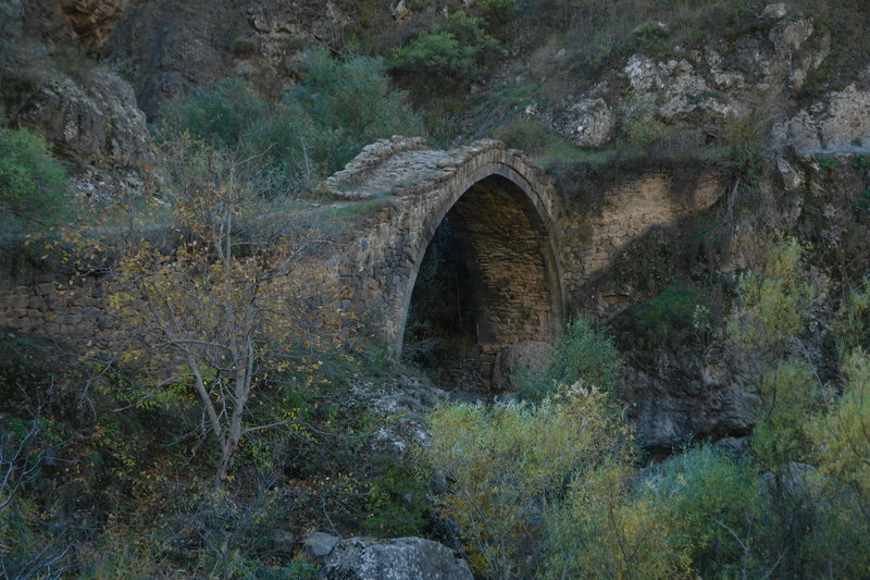The bridge from Middle Ages