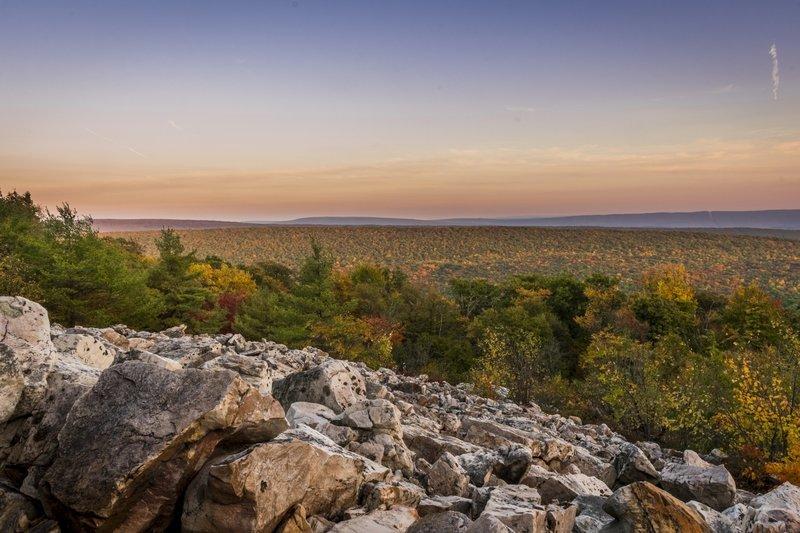 David's Vista on Jackson Trail, photo credit Tim Hackett