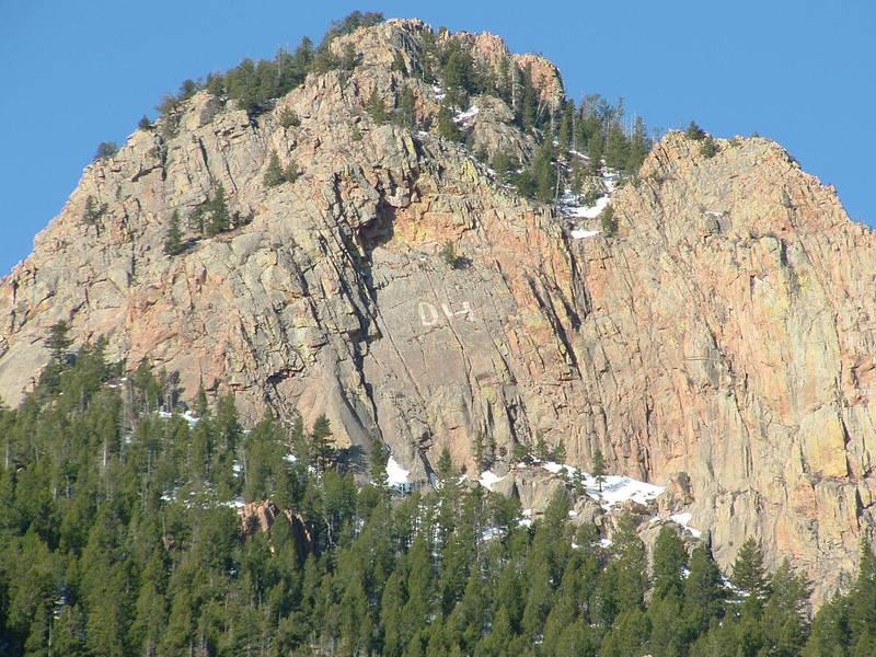 East-face of Eagle Peak, a.k.a. North Peak