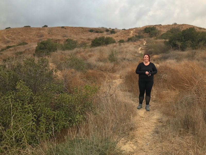 This coyote trail takes you from the top of the Olinda Trail to the spur road along the eastside of the landfill. Durning the spring it can become overgrown.