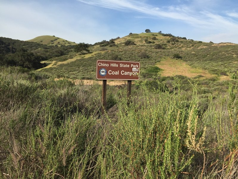 Chino Hills State Park Coal Canyon entrance