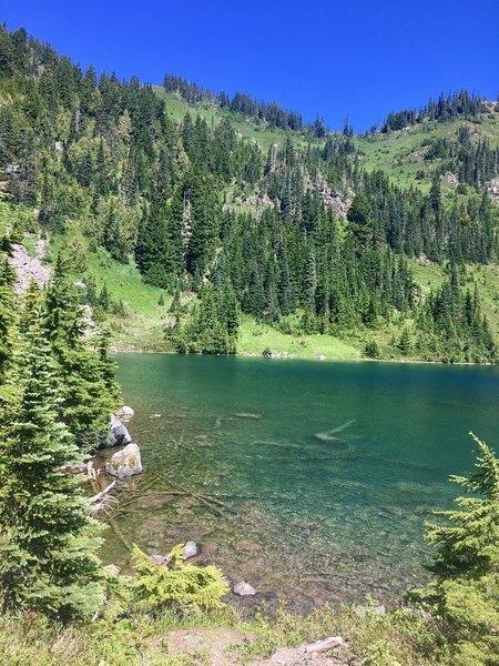 Hoh Lake. Worth the climb.
