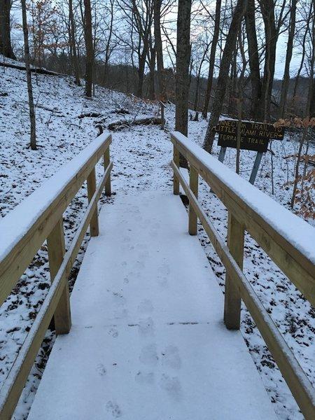 Bridge to the Terrace Trail