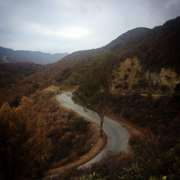 Misty Stage Road.