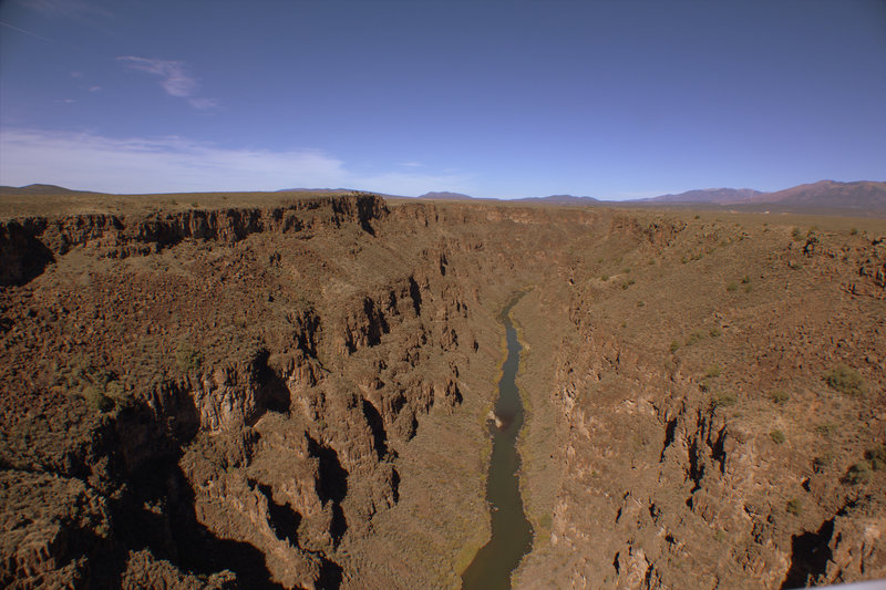 Rio Grande Gorge near Taos, NM.