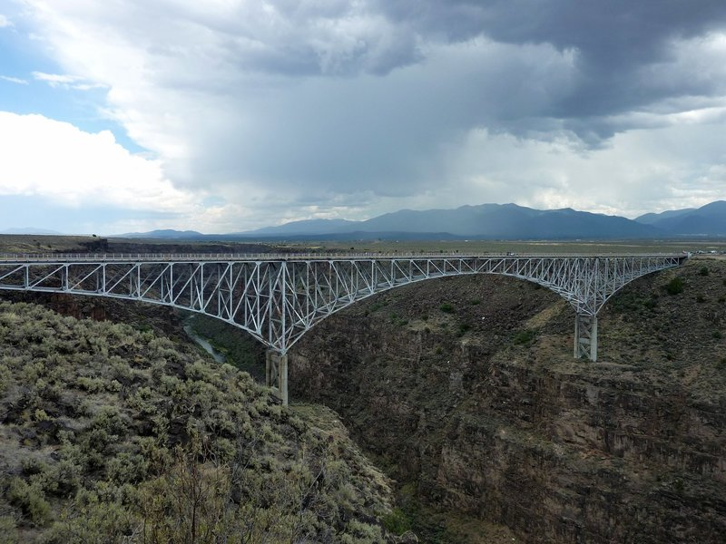 Rio Grande Gorge Bridge.