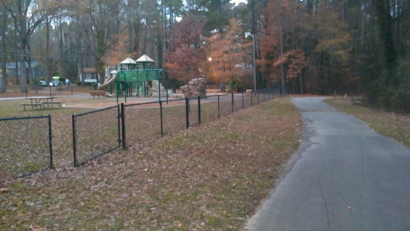 Parking for Crabtree Creek Trail