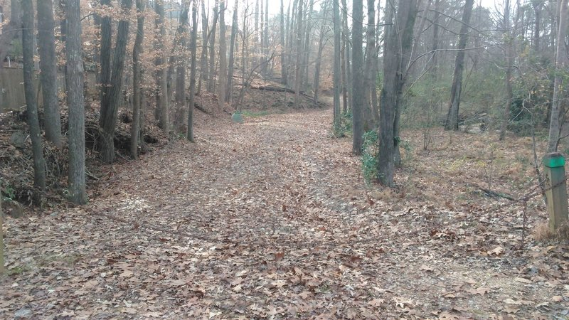 Trailhead of Hare Snipe Creek Trail