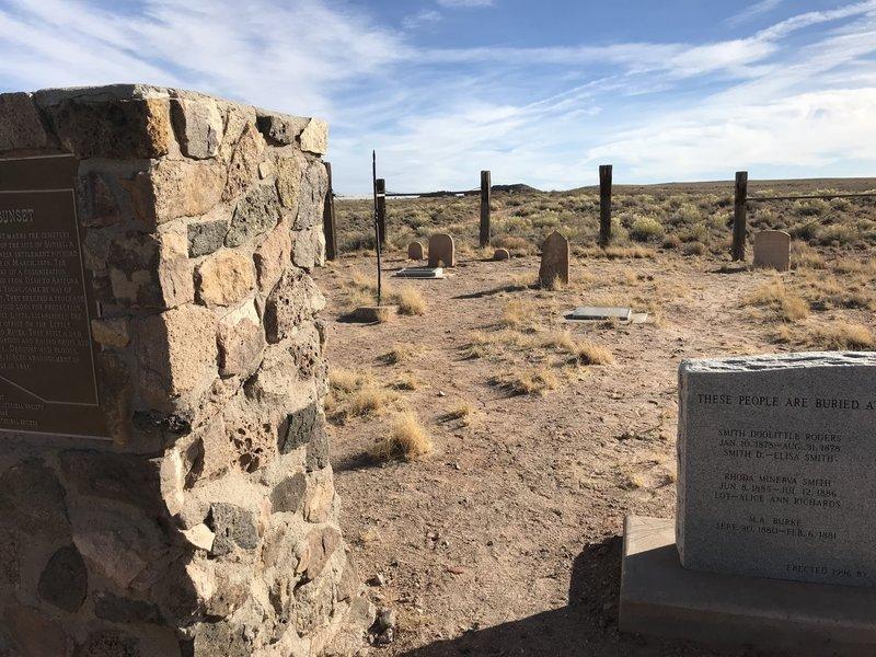 Sunset Cemetary - Mormon Pioneers