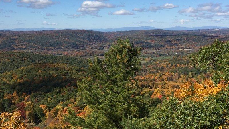 Cobble Mountain view