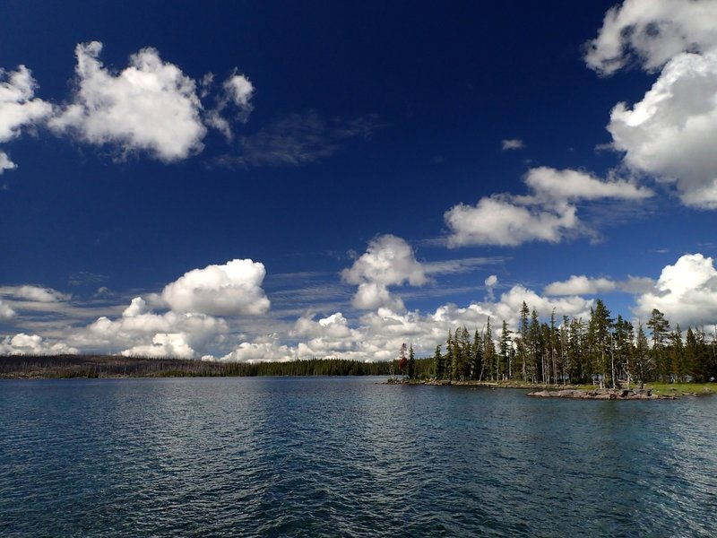 Waldo Lake at Islet Point