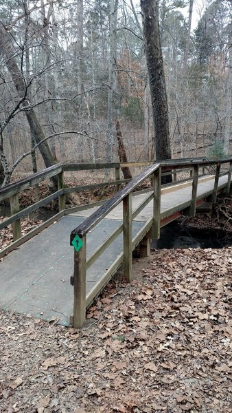 5 mile point of the route by the start of Rock Creek Trail.