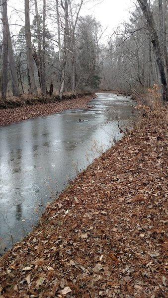 Frozen Rock Creek