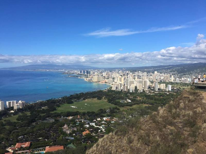 View from Diamond Head National Monument