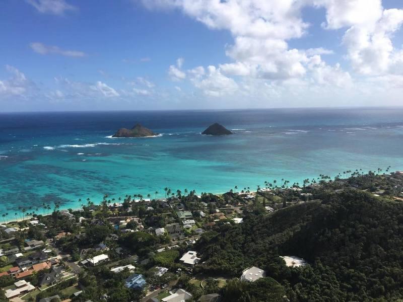 Gorgeous views of Lanikai