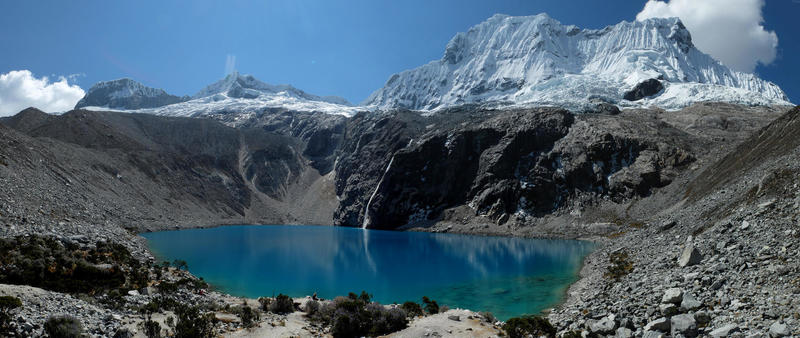 Lake 69, Pisco 5752m, Chacaraju 6112m