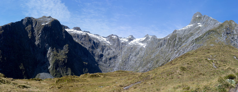 Nicolas Cirque from the Mackinnon Memorial