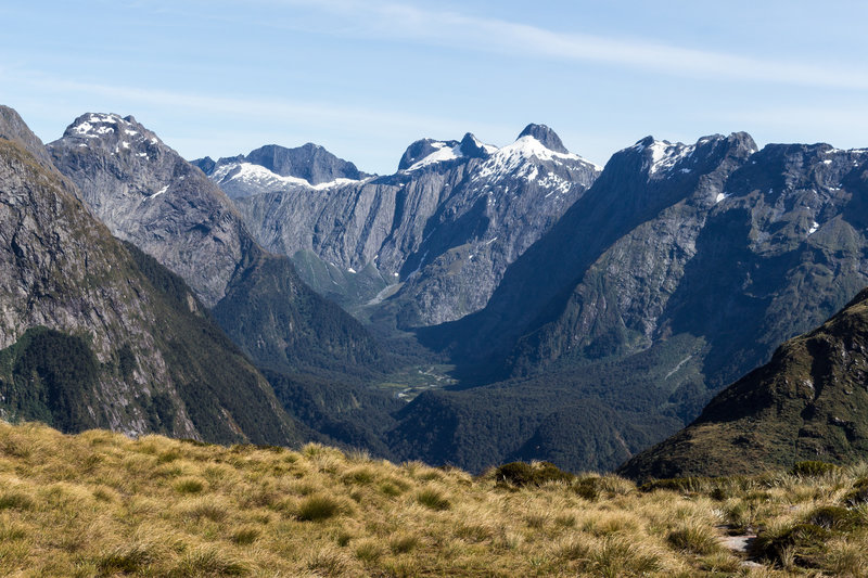 Green Valley from Mackinnon Pass